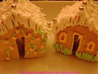 Galletas navideñas y casitas de galletas para regalar