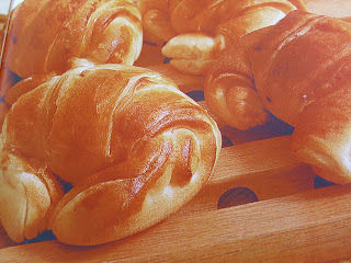 de croissant simples com massa folhada pronta