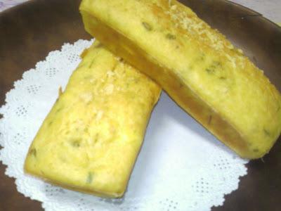 Bolo salgado de milho verde e ricota