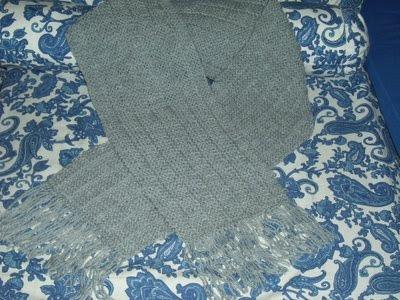 de cachecol de trico