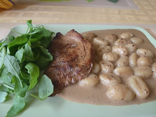 Bravčový steak s horčicovou omáčkou