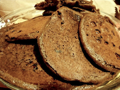 Hot cakes de chocolate!