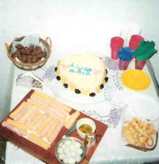 torta salgada de pão de forma com recheio doce
