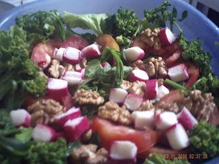 Salada Nutritiva e Refrescante de Ano Novo