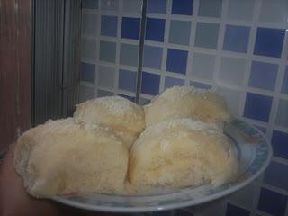 de pão de ló amanteigado