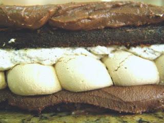 torta de galletas de agua con manjar