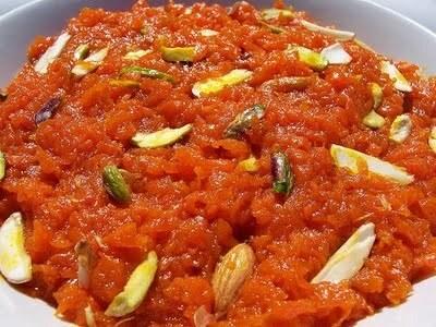 Gajar ka halwa (Carrot Halwa) Recipe