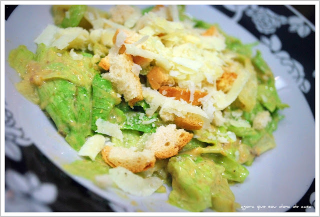 a preferida do marido: caesar salad