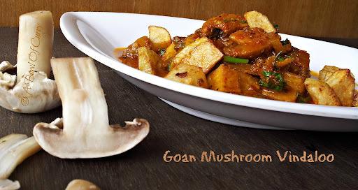 Goan Mushroom Vindaloo
