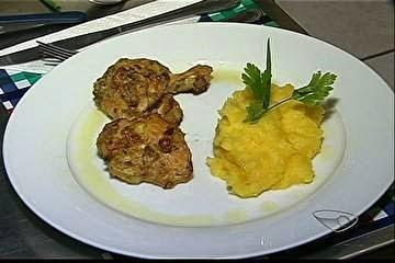 coxinha da asa de frango assada com batata