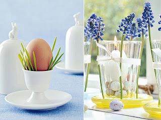 Por falar em Páscoa... para a mesa ficar mais bonita!