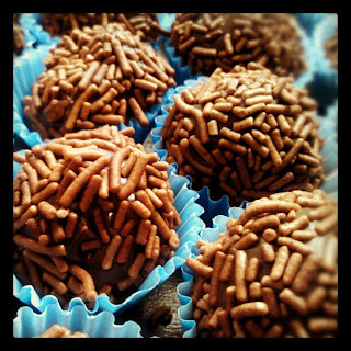 brigadeiro gourmet chocolate do padre