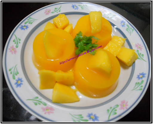 mango pudding without gelatin