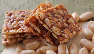 chikki with sugar
