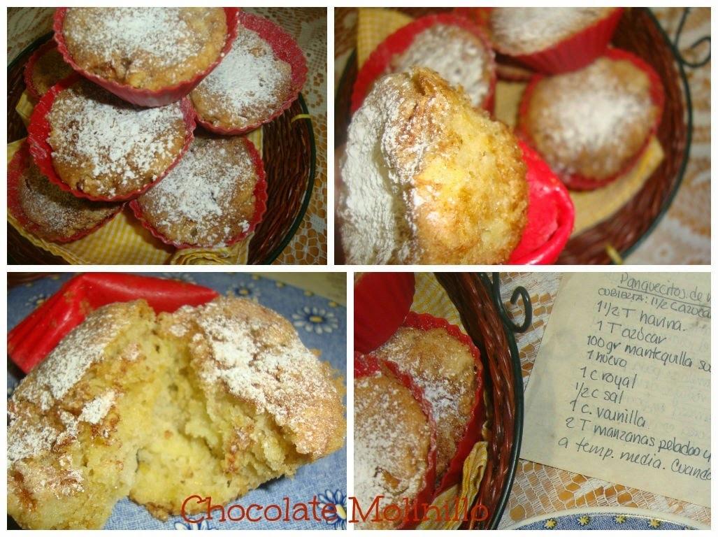 Panquecitos de Manzana y Canela