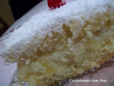 gelado de abacaxi simples sem gelatina