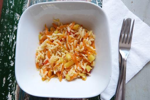 Receita: salada fria de risoni