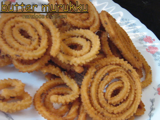 Butter Murukku / murukku / chakli / diwali recipes