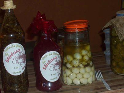 Conserva de ovo de codorna-comidas de boteco