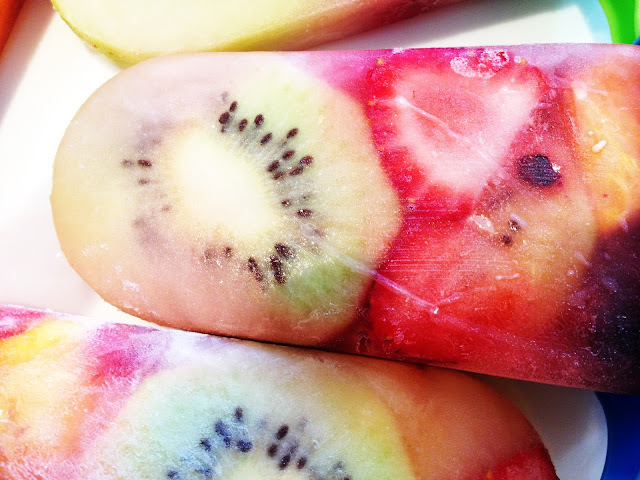 Summer Fruit Popsicles