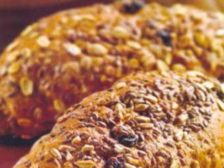 Pãezinhos de grãos
