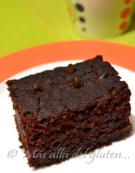 Brownies sin Gluten y sin Huevos (Receta GFCFSF, Vegana)