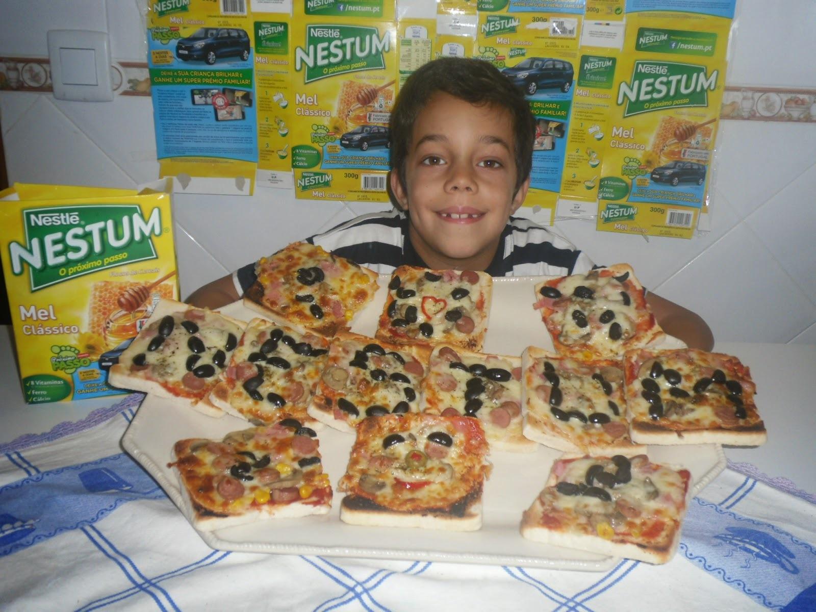 Pizza rápida do Gonçalo