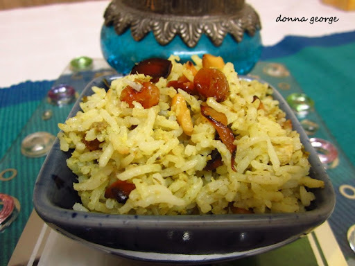 Soul Food - Hariyali Chicken Biriyani