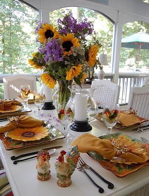 decoraçao de mesa com frutas para o ano novo