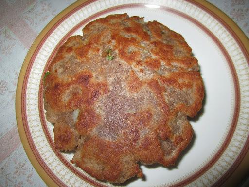 Singhare ka paratha(water chestnut flour paratha)