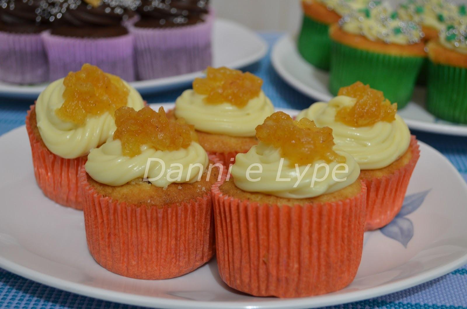 Cupcake de Maçã Caramelada