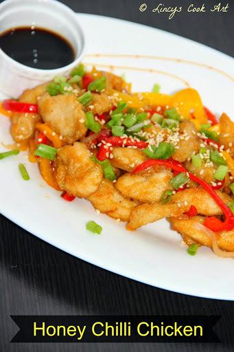 of honey chilli cauliflower by sanjeev kapoor