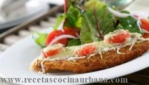 Como preparar escalopes de cordero con queso y tomates cherry