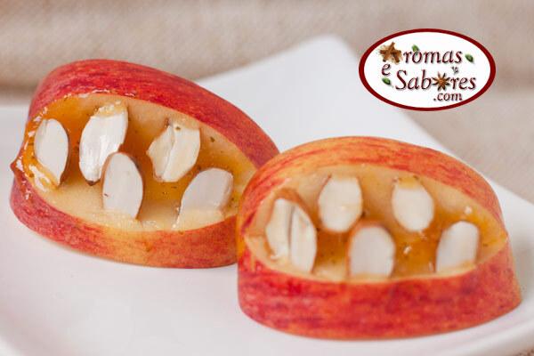 Bocas de maçã para animar a criançada