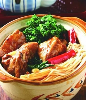 Braised pork pot