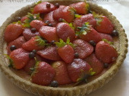 Natal Receitas: torta mousse de morango