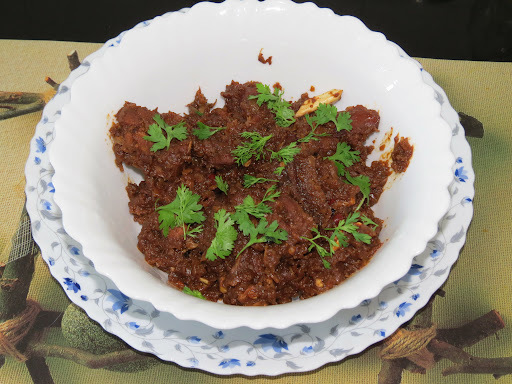 Sukha Mutton (Mutton without gravy)