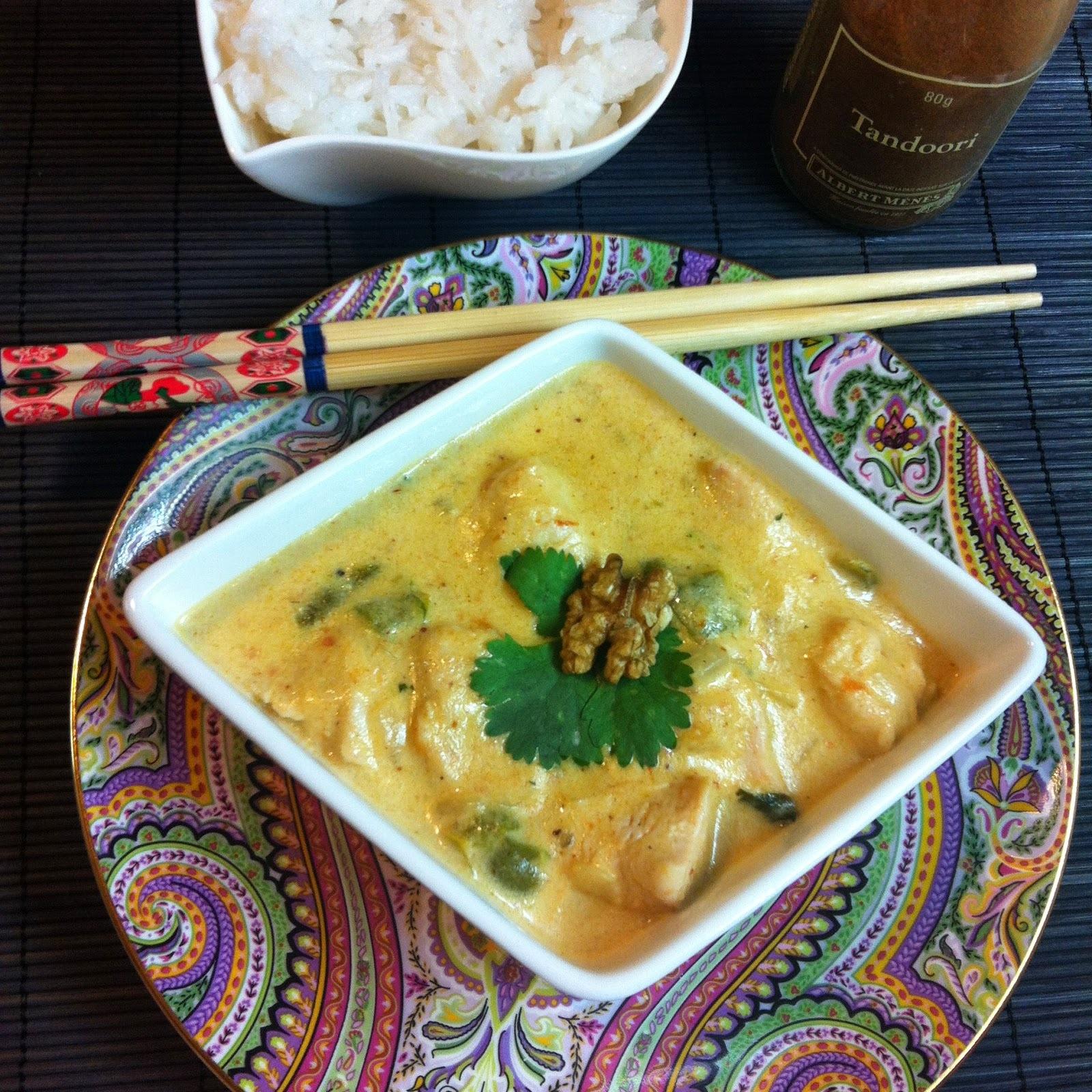 Pollo Con Especias Tandoori Y Arroz Basmati