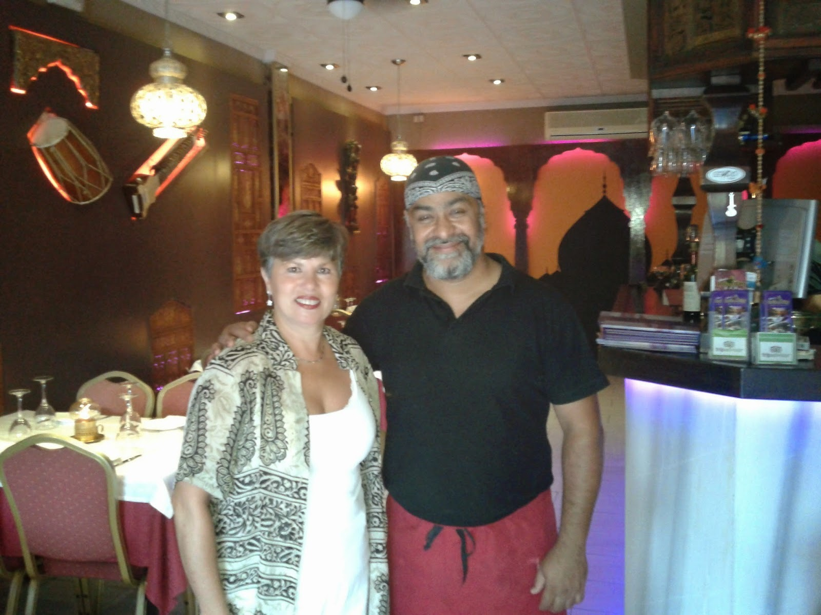 ENCUENTRO CON EL CHEF RAJU (RESTAURANTE ´RAJU´S INDIAN CITY DE BENALMADENA)