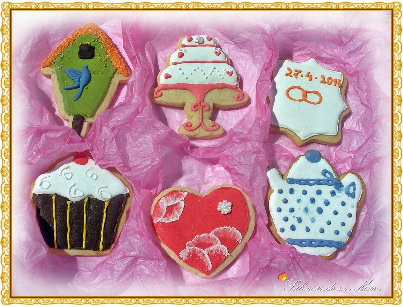 Primeras galletas de glasa y Lista Provisional De Sorteo!!
