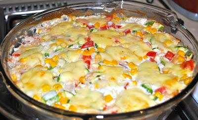Pastel azteca (30 minutos + 20 en el horno)
