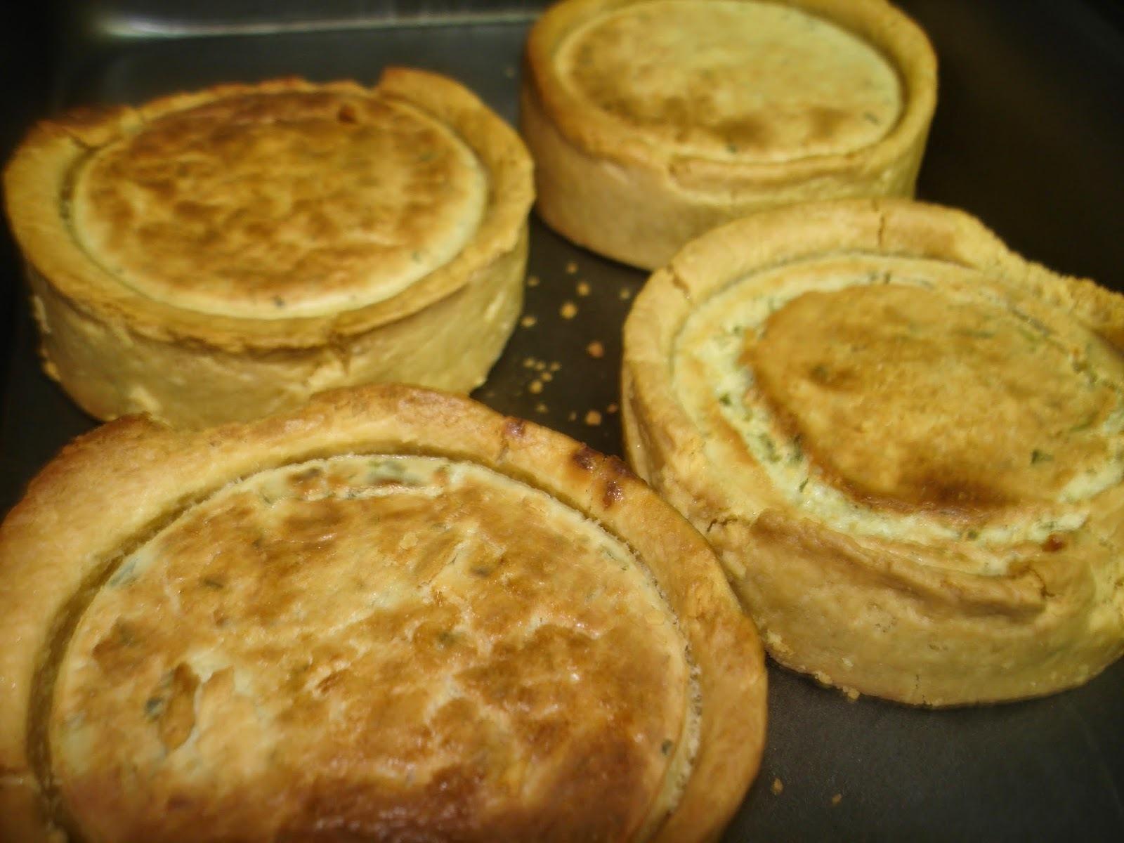 Empadinhas ou Tortinhas de Legumes (ou com qualquer outro recheio): lanche com bom visual e sabor!