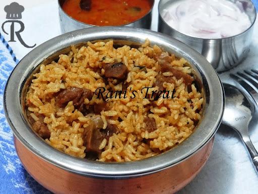 Mutton Biryani / Goat Biryani (Seeraga Chamba Mutton Biryani)