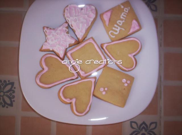 """Galletas decoradas """" Día de las madres"""""""