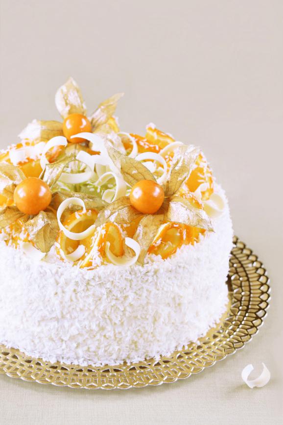 Бразильский апельсиновый торт / Bolo de laranja