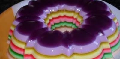 com gelatina com uva passas
