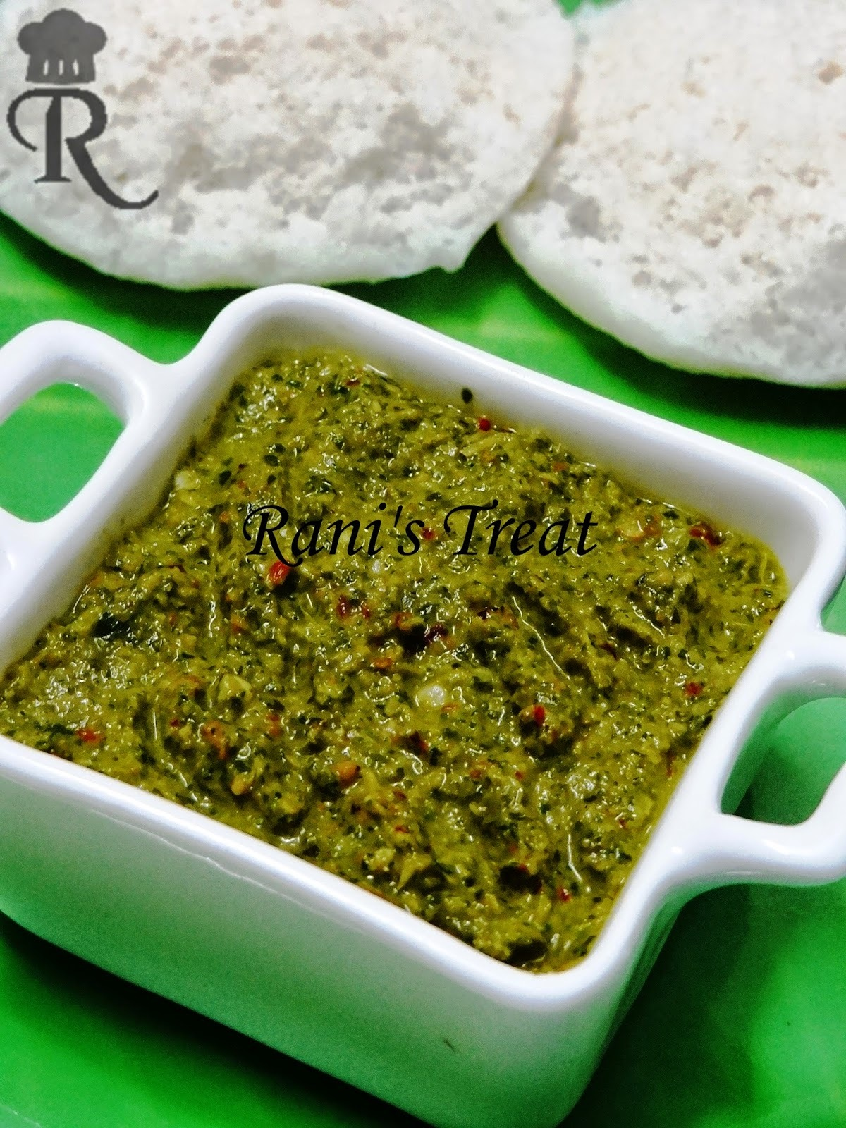 Vallarai (Indian Pennywort) Chutney | Vallarai Keerai Thogaiyal