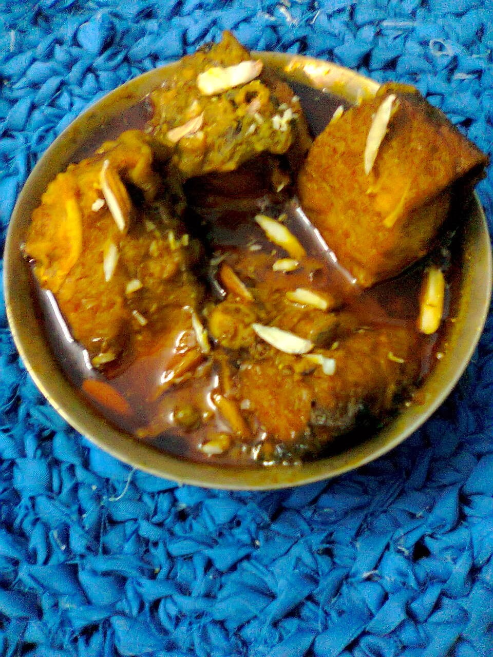 Tomato Rui/Rohu Fish With Tomto/Bengali Rui Macher Jhol.