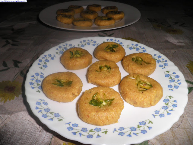 Paneer Peda (Cottage Cheese Fudge)