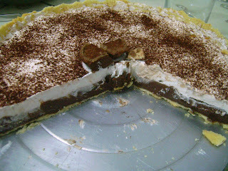 Torta de Creme de Avelã com Chocolate